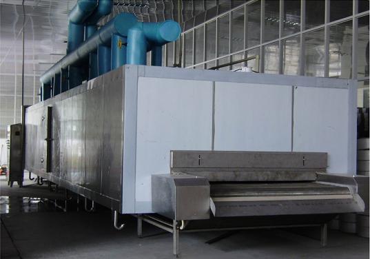 SSD-W型网带式隧道速冻机