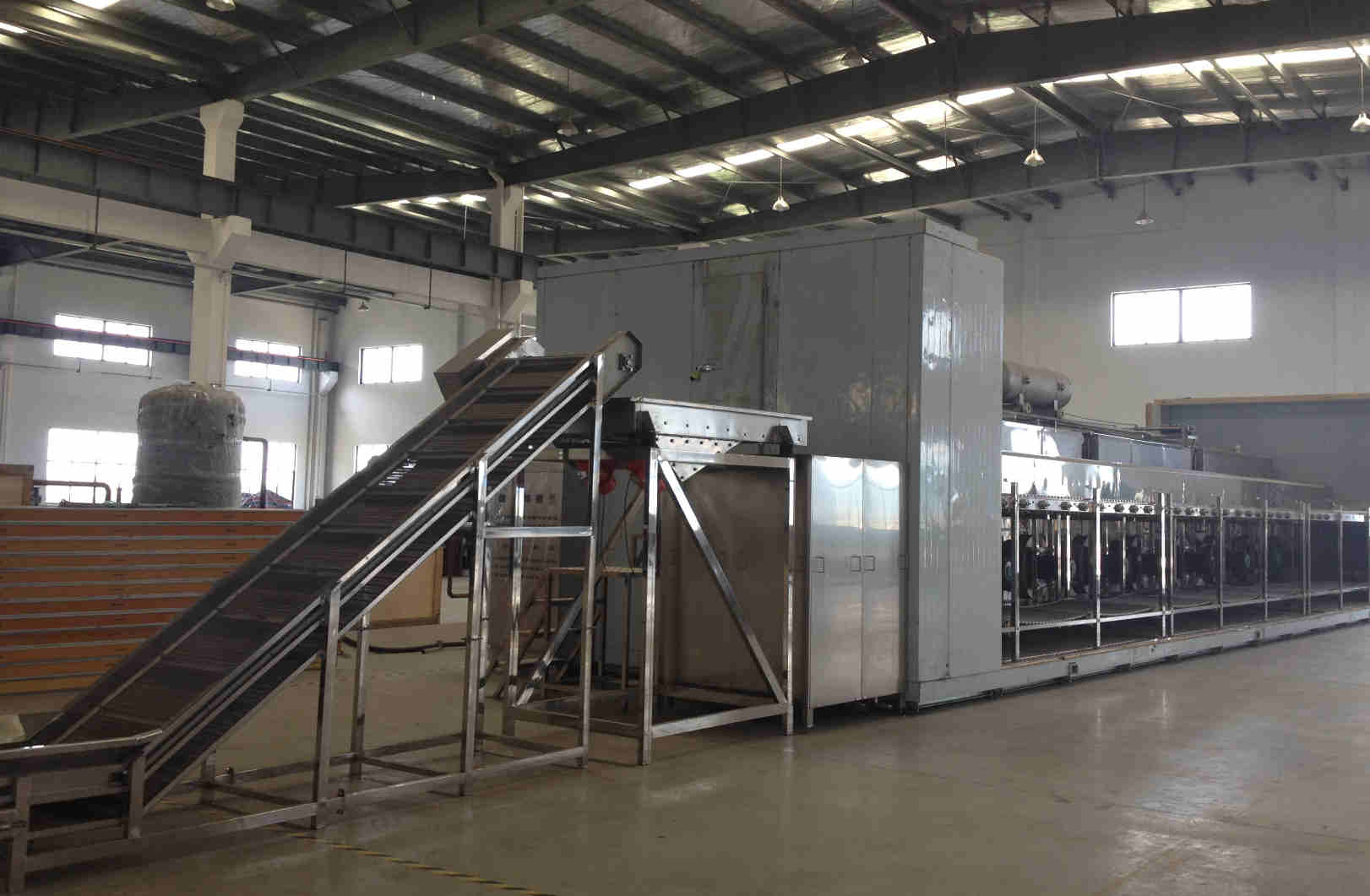 SLD型流态化速冻机